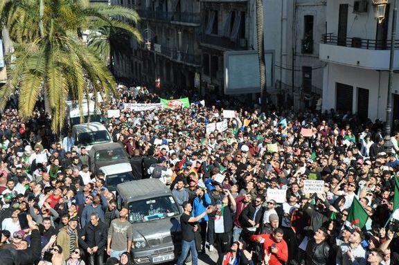 اقدامات شدید امنیتی الجزایر علیه معترضان/بازداشت افراد تجمع کننده در الجزایر