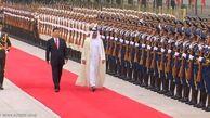 امضای توافق نامه های تجاری در دیدار ولیعهد ابوظبی با شی جینپینگ