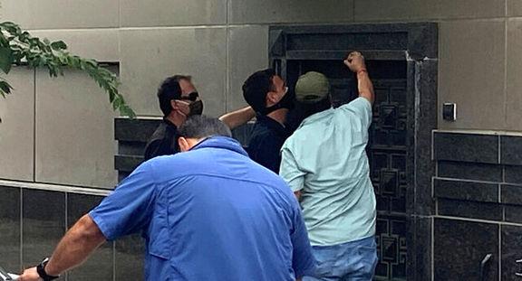 مقام های هوستون کرونیکل آمریکا کنسولگری چین را تصرف کردند