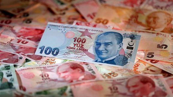 ارزش لیر ترکیه در برابر دلار کاهش یافت