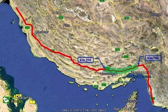 مرکز انتقال شماره ۲ نفت خام گوره -جاسک راهاندازی شد