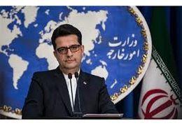 بغض سخنگوی وزارت خارجه ایران در پیام به مردم آمریکا