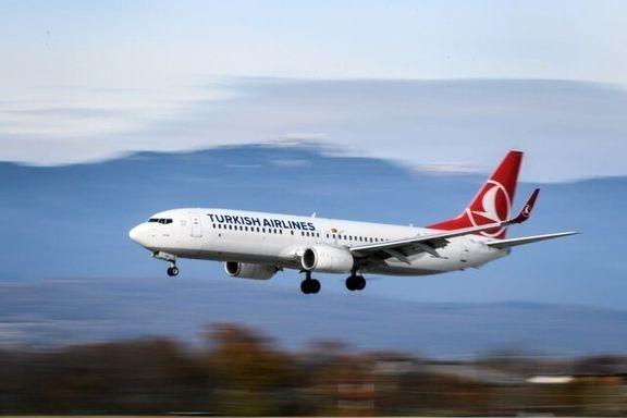 پروازهای بین المللی ترکیش ایرلاین تا نیمه ژوئن لغو شد