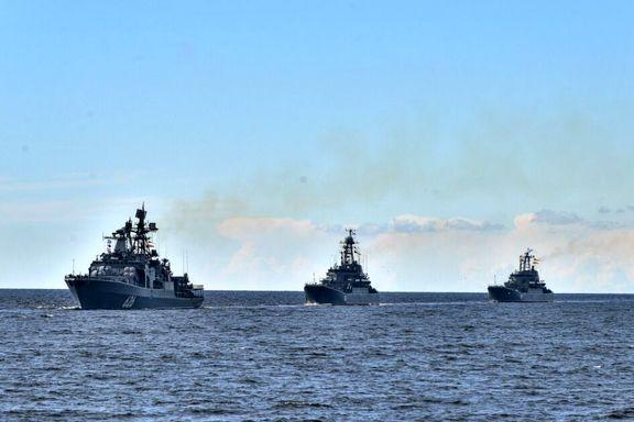 رزمایش مشترک دریایی روسیه و هند در دریای بالتیک برگزار شد
