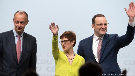 شنبه آینده جانشین مرکل در حزب دموکرات مسیحی انتخاب میشود