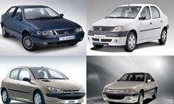 قیمت برخی از خودروهای تولید داخلی در بازار + جدول