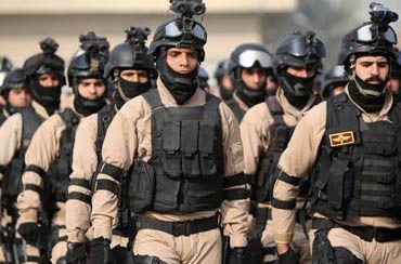 حشدالشعبی پایگاه نیروی هوایی آمریکا در بغداد را محاصره کرد