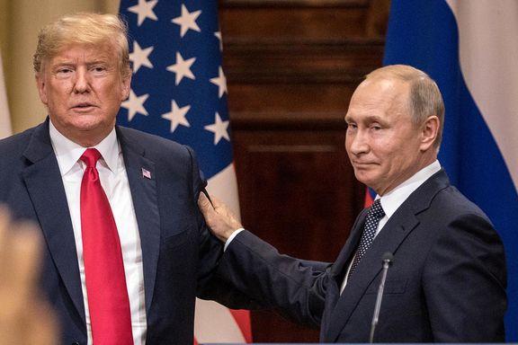 دیدار پوتین و ترامپ درحاشیه اجلاس اتحادیه آ.سه.آن