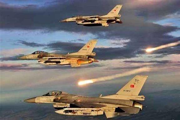جنگنده های ترکیه تل ابیض  را بمباران کردند