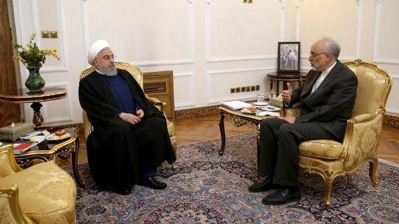 صالحی گزارشی از عملکرد مجموعه سازمان انرژی اتمی را ارائه کرد