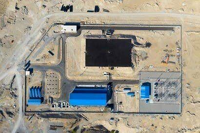 افتتاح قطعه اول خط انتقال آب از خلیج فارس به فلات مرکزی ایران