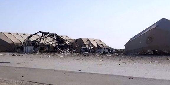 خبرنگار عراقی تصاویری از پایگاه «عینالأسد» منتشر کرد