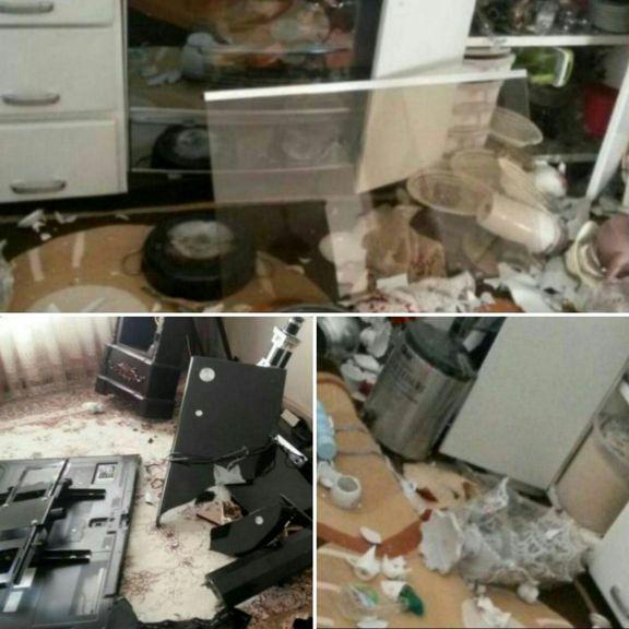 خسارات زلزله کرمانشاه قابل توجه بوده است