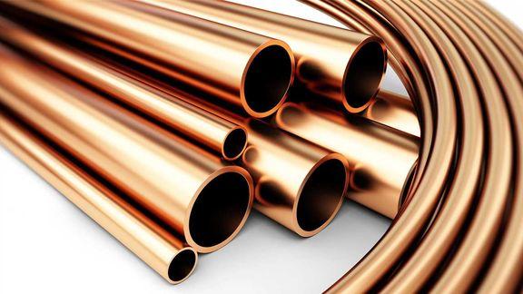 رشد یک درصدی قیمت مس در بورس فلزات لندن