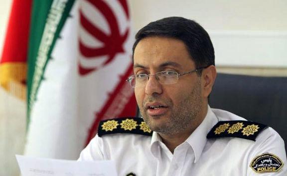 واکنش رئیس پلیس راهنمایی و رانندگی تهران بزرگ  به کلیپ درگیری شدید یک مأمور راهور با یک شهروند