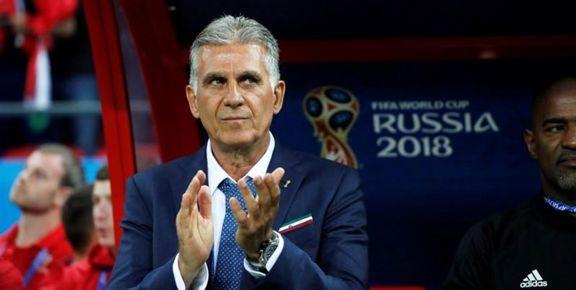 کیروش قرارداداش را با تیم ملی تمدید کرد
