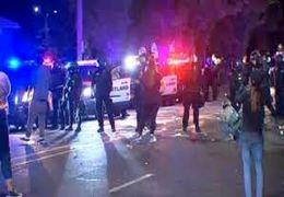 اعلام وضعیت شورش در پورتلند آمریکا
