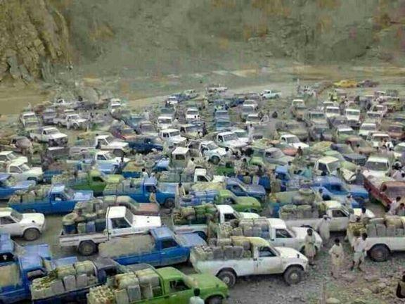 قاچاق سوخت در مرز پاکستان + فیلم
