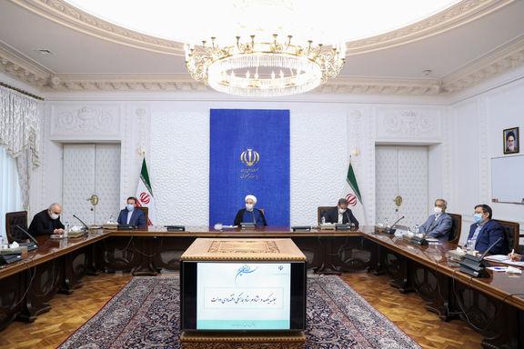 حسن روحانی خواستار تلاش بیشتر برای آزاد کردن منابع مالی بلوکه شده ایران شد