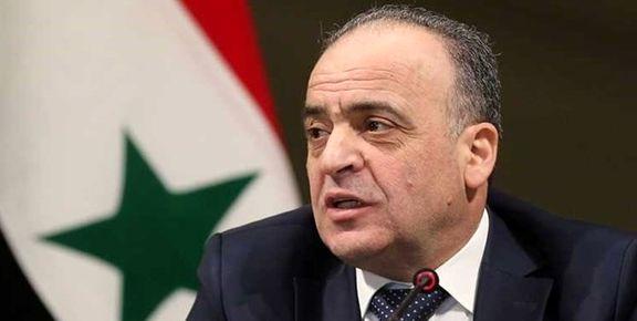 نخست وزیر سوریه به تهران آمد