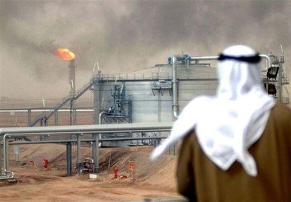 عربستان شاهد سوختن میادین نفتی خود شد