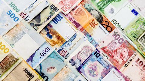 افزایش نرخ رسمی یورو و پوند همراه با تثبیت نرخ 11 ارز
