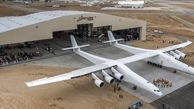 پرواز موفقیت آمیز بزرگترین هواپیمای جهان/این هواپیما 250 تن وزن دارد