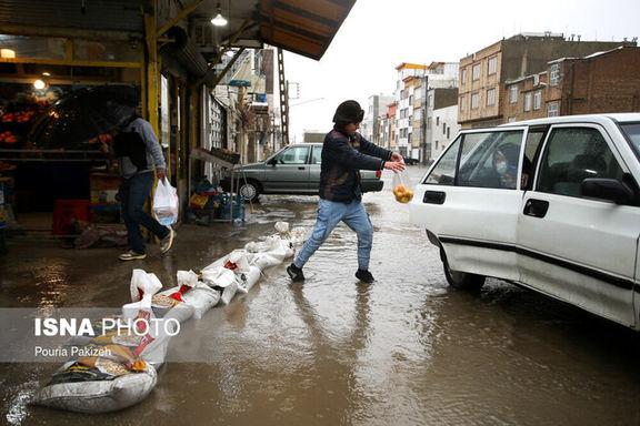 16 استان کشور درگیر بارندگی های شدید خواهند شد