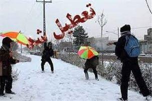 مدارس تهران دوشنبه 30 دی تعطیل است