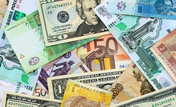 نرخ ۱۹ ارز افزایش یافت/ یورو کاهش یافت
