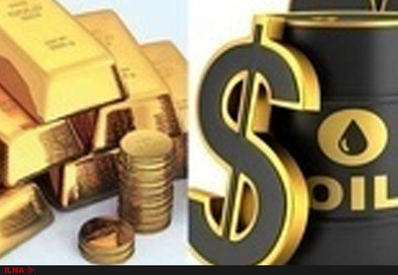 نفت ارزان شد / طلای جهانی به ۴۸ دلار و ۹۰ سنت در هر گرم رسید
