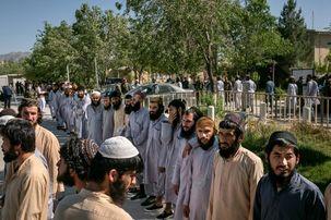 آزاد سازی زندانیان طالبان توسط دولت کابل آغاز شد