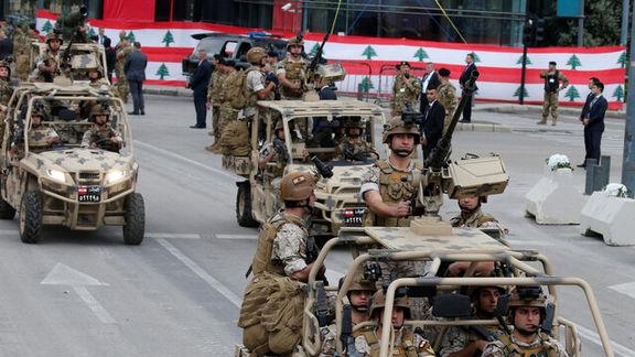 حرکت عجیب ارتش لبنان/ لبنان نیروهای ارتشی خود را ملزم به عدم دخالت و واکنش به دشمن  کرد