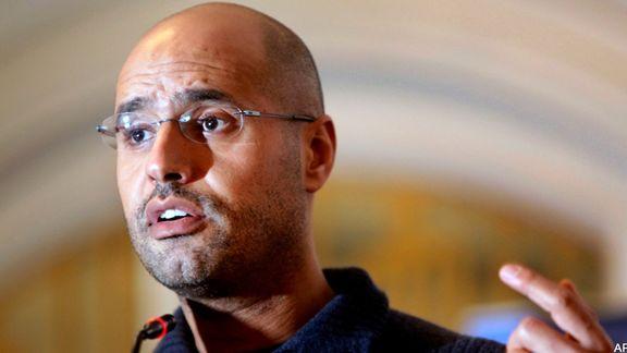 فرزند قذافی کاندیداتوری خود برای ریاست جمهوری لیبی را اعلام کرد