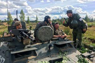 ارتش روسیه به حالت آماده باش درآمد