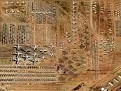 پرواز برفراز صحرای آریزونا آمریکا یکی از بزرگترین قبرستانهای هواپیما در جهان