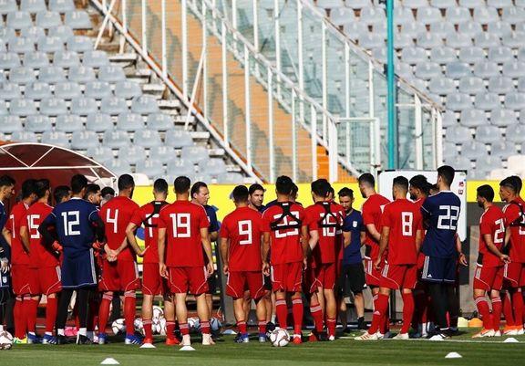 ترکیب تیم ملی فوتبال ایران مقابل سوریه