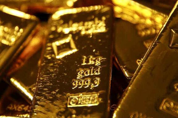 کاهش قیمت انس طلای جهانی با تقوت شدن دلار در بازار جفت ارزها