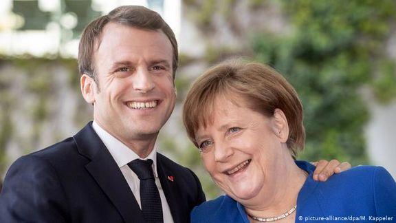 ماکرون از مرکل خواست ریاست کمیسیون اروپا را بپذیرد