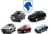 قیمت روز محصولات ایران خودرو