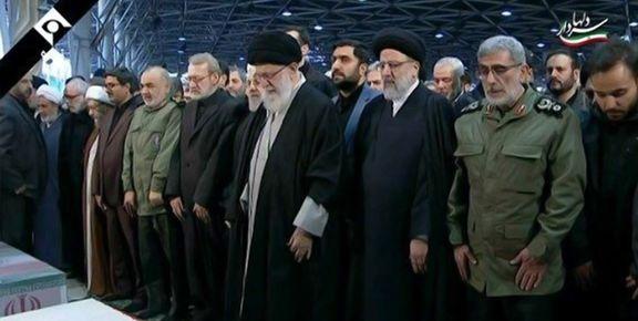 رهبر معظم انقلاب چه دعایی بر پیکر سردار شهید حاج قاسم سلیمانی خواند؟