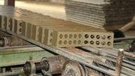 قیمت مصالح ساختمانی به دلیل رکود متوقف شده است