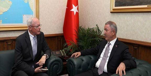 نشست مقامات ارشد نظامی ترکیه و آمریکا برای بررسی اوضاع شمال سوریه