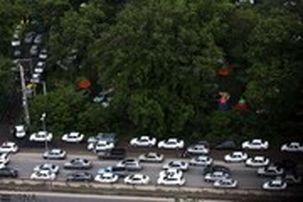 ترافیک سنگین در جادههای شمالی کشور