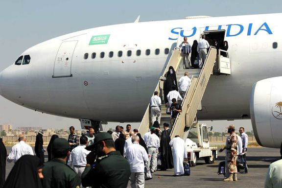 کشف دو کیلوگرم مواد در میان زائران خانه خدا در فرودگاه تهران