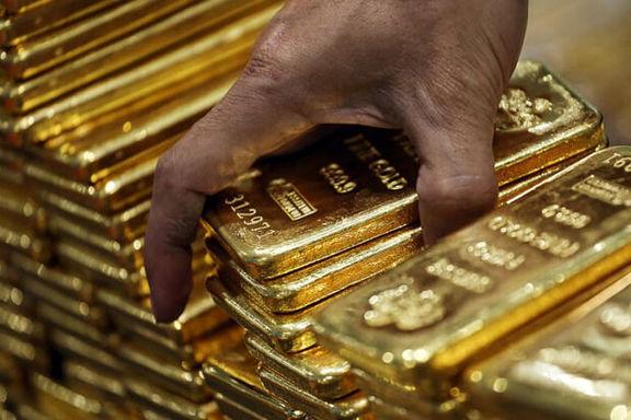 رشد قیمت طلای جهانی تحت تاثیر افت ارزش دلار