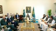 تاکید نخستوزیر پاکستان بر تقویت امنیت مرزهای صلح و دوستی با ایران