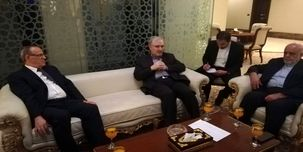 سعید نمکی وزیر بهداشت  وارد کشور عراق شد