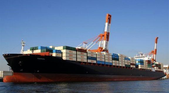 کشتی ۳۶۰۰ تنی حامل دام زنده در بندر شهید رجایی پهلو گرفت