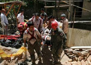 یک کارگر در حادثه ریزش دیوار در میدان هروی مفقود شد